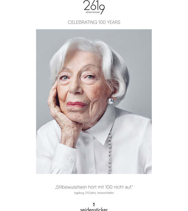 Centenarians at the centenary